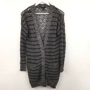 Jessica Simpson Long Button Down Cardigan